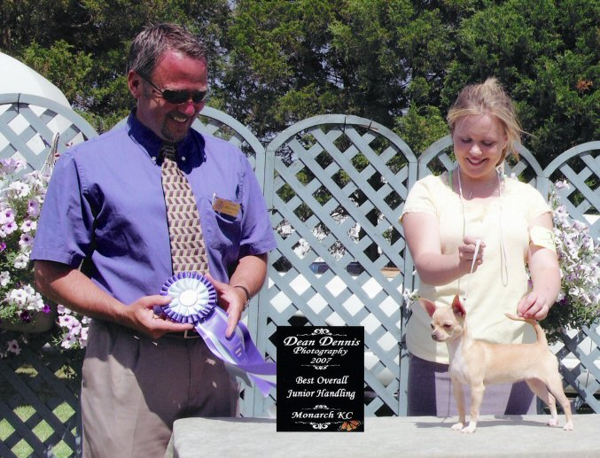 Monarch 2007 : Best Junior Handler